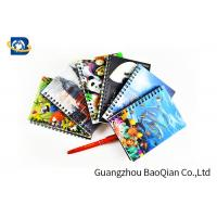 China A4 A5 A6 3D Lenticular Notebook Eco - Friendly Material For Student Stationery on sale