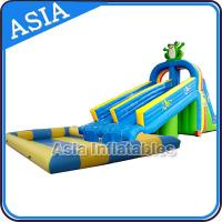 China Animal Shape Inflatable Theme Park , Inflatable Water Play Center , Inflatable Water Play Island on sale