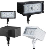 China Industrial Commercial Outdoor LED Flood Light Fixture 45W 100Lm/w Kunckle Installation wholesale