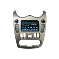 China Auto DVD Radio Player Car GPS Navigation System for  Logan with Usb GPS Wifi wholesale