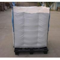 China Net Baffle Formed big bag Q Bags for soybean / corn packing on sale
