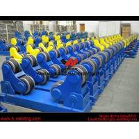 China Wind Tower Assembly And Fit Up Welding Turning Rolls / Turning Bed Rotator with PU Roller wholesale