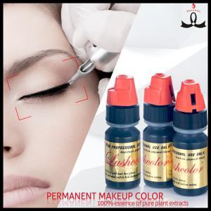 China Lushcolor Black Tone Semi Cream Permanent Makeup Ink For Eyeliner wholesale