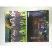 China Full Color Printing 0.6 MM PET 3d Lenticular Card With Pearlised Film wholesale