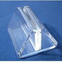 China Transparent Acrylic Table Menu Holders With Beautiful Shape wholesale