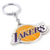 China Los Angeles Lakers metal keychain wholesale