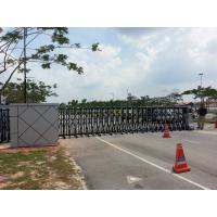 Quality Security Trackless Automatic Folding Gate Retractable For Enterprise and Public for sale