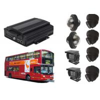 China WIFI 8 Channel Vehicle Security Camera System With GPS Tracking / Video Display wholesale