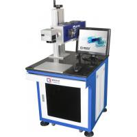 China Automatic Laser marking Machine 60W RF For PVC Board Bule Color Maintenance Free wholesale
