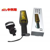 China 9V Battery Powered Handheld Body Scanner Airports / Railway Stations Use on sale