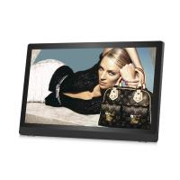 China Ultrathin HD IPS 27inch LCD Digital Photo Frame Plastic Case Video Loop Play wholesale