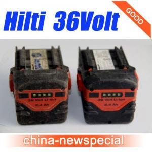 China HILTI 36V 2.4Ah CPC B36/2.4 Lithium-Ion Battery Hilti 36volt batteries wholesale