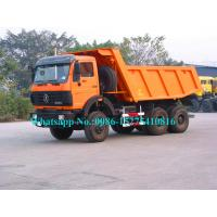 China 6x6 Off Road Heavy Duty Dump Truck 40000kg To 60000KG Loading Weight 85km/H wholesale