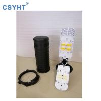 China PP FTTH Optical Fibre Cable Joint Closure 144 Fibers IP68 With Mechanical Sealing on sale