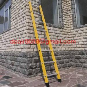 China Straight fiberglass ladder&Insulation ladder wholesale