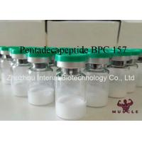 China Injectable Muscle Growth Peptides , Pentadecapeptide BPC 157 Peptide CAS 137525-51-0 wholesale