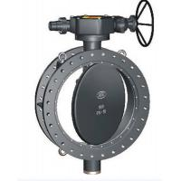 Electric Actuated double Flanged Butterfly Valve