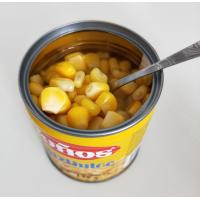 China Hot Sale Canned Sweet Corn in Water Best Sweet Corn in Tin on sale