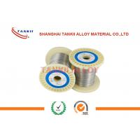 China Alloy 875 Magnetic Round Fecral Wire Good Form Stability For Precision Resistor wholesale