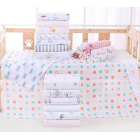 China Printed Pattern Multi Functional Baby Cotton Bath Towels 140g Weight Of Fabric wholesale