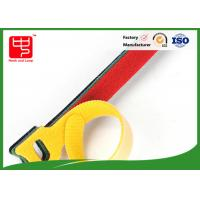 China Self Gripping Die Cutting hook and loop Wire Tie / Magic Hook Loop Cable Ties wholesale