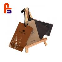 China Custom Logo Name Garment Cardboard Gift Tags With Eco Friendly Materials wholesale