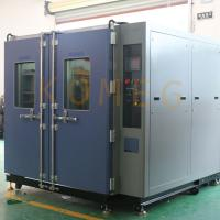 China 7L Double Door Walk-In Chamber With Programmable KM -5166 LCD Touch Screen Controller wholesale