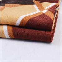 China High Quality 95% Polyester 5% Spandex Twisting Korea ITY Knitted Printed Fabric for Dress and Shirts wholesale
