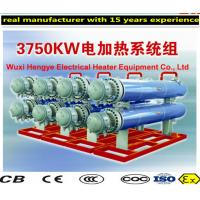 China Horizontal Electric Thermal Oil Heater Wall Type With Internal Control System wholesale