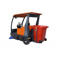 China Electric Broom Ride On Floor Sweeper Machine Battery Operated Full Automatic wholesale