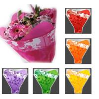 China Colorful Flower Packaging Flower Bouquet Sleeves with Gravure Printing wholesale