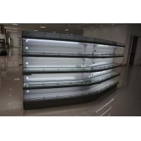 China Supermarket Cosmetics Display Racks Retail Gondola Shelving ISO9001 Certification wholesale