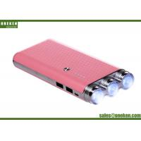 China Flash Light Highest Capacity Portable Battery , 9000mAh Cell Phone Battery Chargers wholesale