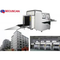 China High resolution dual energy  X Ray Baggage Scanner with dual console wholesale