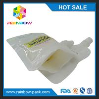 China Customized Reusable  Plastic Stand Up  Squeeze  Pouch for Baby Food/juice/soup wholesale