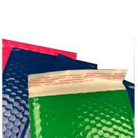 China Strong Glue Plastic Bubble Mailers Shinny Surface Easy For Writing / Printing wholesale