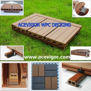 China WPC decking & tiles, WPC flooring, Wood Plastic Composite wholesale