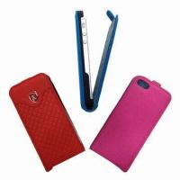 China PU Leather Case for iPhone 5  wholesale