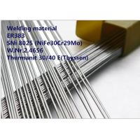 China ER383 GTAW Welding Rod Special Alloys Welding Material Nickel Based Alloy ER383 / SNi 8025 wholesale