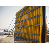 China Custom Concrete Wall Formwork Concrete Wall Form , Lightweight 55-60kg/m2 wholesale
