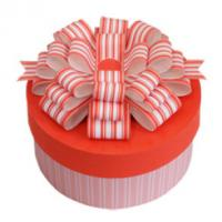 Quality Paper Cylinder - Shaped Gift Box Packaging Pink For Birthday Cake for sale