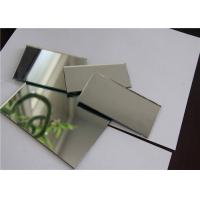 China Single Coated Aluminum Mirror Glass Shape Customized For Building Decorations wholesale