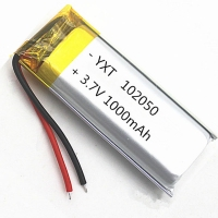 China Custom PL102050 1000mAh 3.7 V Lithium Ion Polymer Battery for sale wholesale