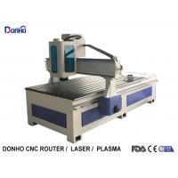 China Acrylic Carving CNC Router Milling Machine With T-Slot Table Spindle Protect Shade on sale