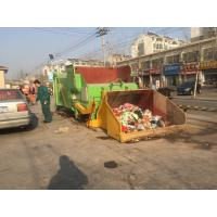 China Large automatic mobile garbage compression equipment for low price/manufacture Garbage sorting equipment on sale