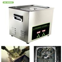 China 200W 10l Ultrasonic Digital Cleaner Tabletop For Automotive Parts Motor Engine wholesale