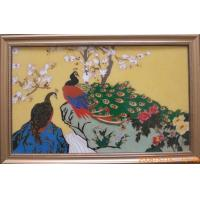 China Chinese antique imitation crafts cloisonne handicraft painting for living room decoration as unique wholesale