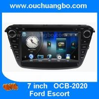 China Ouchuangbo gps navi audio radio stereo Ford Escort support iPod USB MP3 Russian menu wholesale