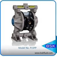 Buy cheap Pneumatic Positive Displacement Pump Thermoplastic / Rubber Diaphragm Pump from wholesalers
