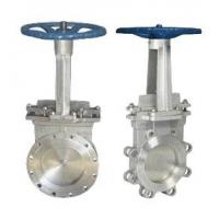 China Stainless Steel Knife Gate Valve Operating Temperature -100℃ - 600℃ wholesale